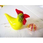 Mini poulette jaune.